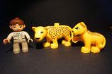 Duplo Leopard mit Kind