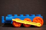 Duplo Lok-Untergestell rot/blau