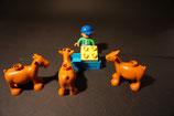 Duplo Bauer mit Ziegen als Set