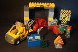 Duplo Werkstatt mit Abschleppwagen als Set (mit Gebrauchsspuren)