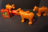 Duplo 3 Kühe auf dem Bauernhof als Set