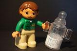 Duplo Zoowärter mit Trinkflasche als Set