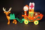 Duplo Weihnachtsmann mit Kutsche als Set