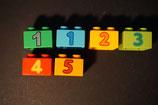 Duplo Zahlensteine flach 2x2