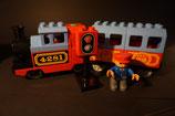 Duplo Dampf-Lok 4281 mit Waggon