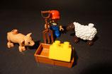 Duplo Bauer mit Schaf und Ferkel als Set