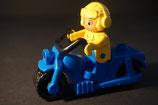 Duplo Motorrad mit Fahrer
