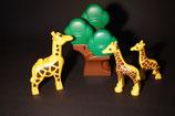 Duplo Giraffenfamilie (3 Tiere)  mit Baum als Set
