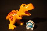 Duplo großer Dino mit beweglichem Maul + Motivstein (T-Rex aus Jurassic World)