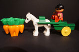 Duplo Pferdekutsche mit Möhren als Set