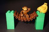 Duplo Affe mit Bananen als Set