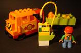 Duplo E-Lok mit Tankfunktion als Set mit Waggon und Zubehör