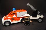 Duplo Feuerwehrwagen (neues Modell) mit  Anhänger als Set