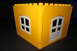 Duplo 2 Hauswände Tür und Fenster versch. Farben als Set