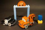 Duplo Cars Hooks Schrottplatz Set
