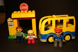 Duplo Bus als Set