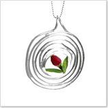 Anhänger Spiral - Rose