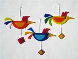 Vogel hängend