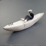 Geiermann im Boot