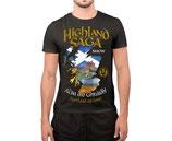 Highland Saga T-Shirt - blau