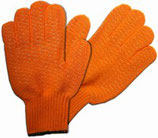 Criss Cross Motorsägen Handschuh orange Strickhandschuh