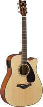 FGX800C Acoustic Electric Solid Top Dreadnought