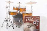 STAGE CUSTOM BIRCH EURO KIT - Bonus Floor tom  6 PIECE KIT - With PST5 Cymbal Package