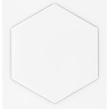 Hexagon Shaped Sublimation Magnet