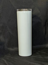 20 OZ Straight Skinny White Sublimation - Case of 25