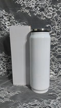17 oz Stainless Cola Can  Coated White for Sublimation