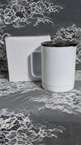 10 Oz Straight Coffee mug for sublimation
