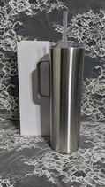30 Oz Skinny Stainless Tumbler with Handle - Case of 25