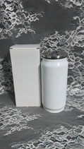 12 oz Stainless Cola Can Coated White for Sublimation - Case of 20
