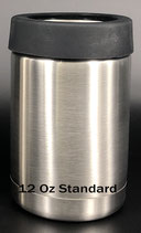 12 oz Stainless Standard Can Holder - Case of 25