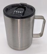10 Oz Straight Coffee mug Stainless - Case of 25