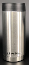 12 oz Stainless Skinny Can Holder - Case of 25