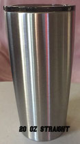 20 oz Straight Tapered Stainless Tumbler - Case of 25