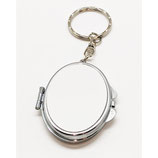 Oval Compact Sublimation Key Chains