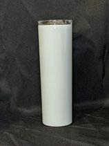 30 OZ Tapered Skinny White Sublimation