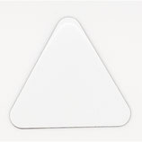 Triangle Shaped Sublimation Magnet