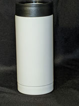 12 oz White Sublimation Tall Slim Can Holder