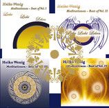 "CD-Set  ""Meditationen Best of - Vol. I-IV"""