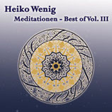 "CD ""Meditationen Best of - Vol. III"""