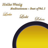 "CD ""Meditationen Best of - Vol. I"""