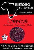 Sachet gourmand - Biltong l'Épicé 180g