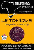 Sachet gourmand - Biltong Le Tonique 180g