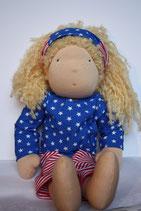 Dolly Puppe nach Waldorfart Stars and Stripes