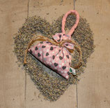 Lavendelsäckchen mit Herzchen