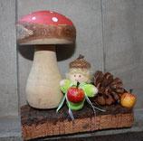 Herbstdeko mit Püppchen