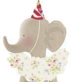 Tilda Materialset Zirkus Elefant